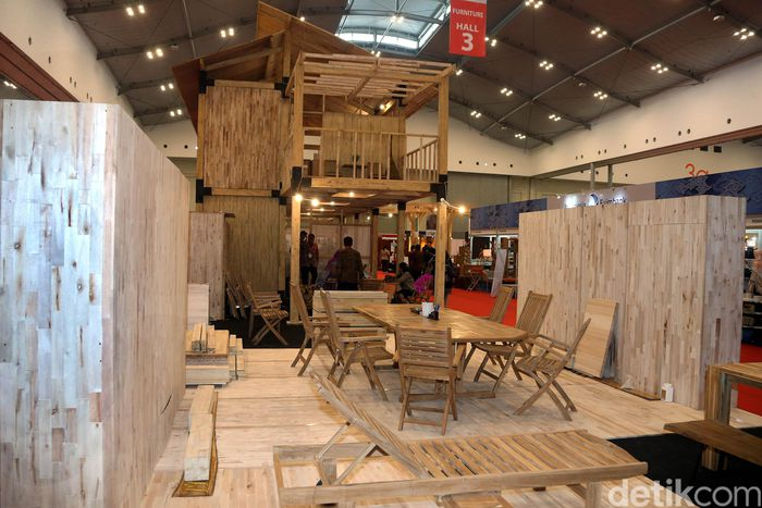 Detik.com - Rumah Tahan Gempa Mejeng di Trade Expo Indonesia